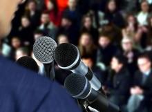 microfoane public speaking speaking
