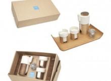 Set de ceai WARM - stejar